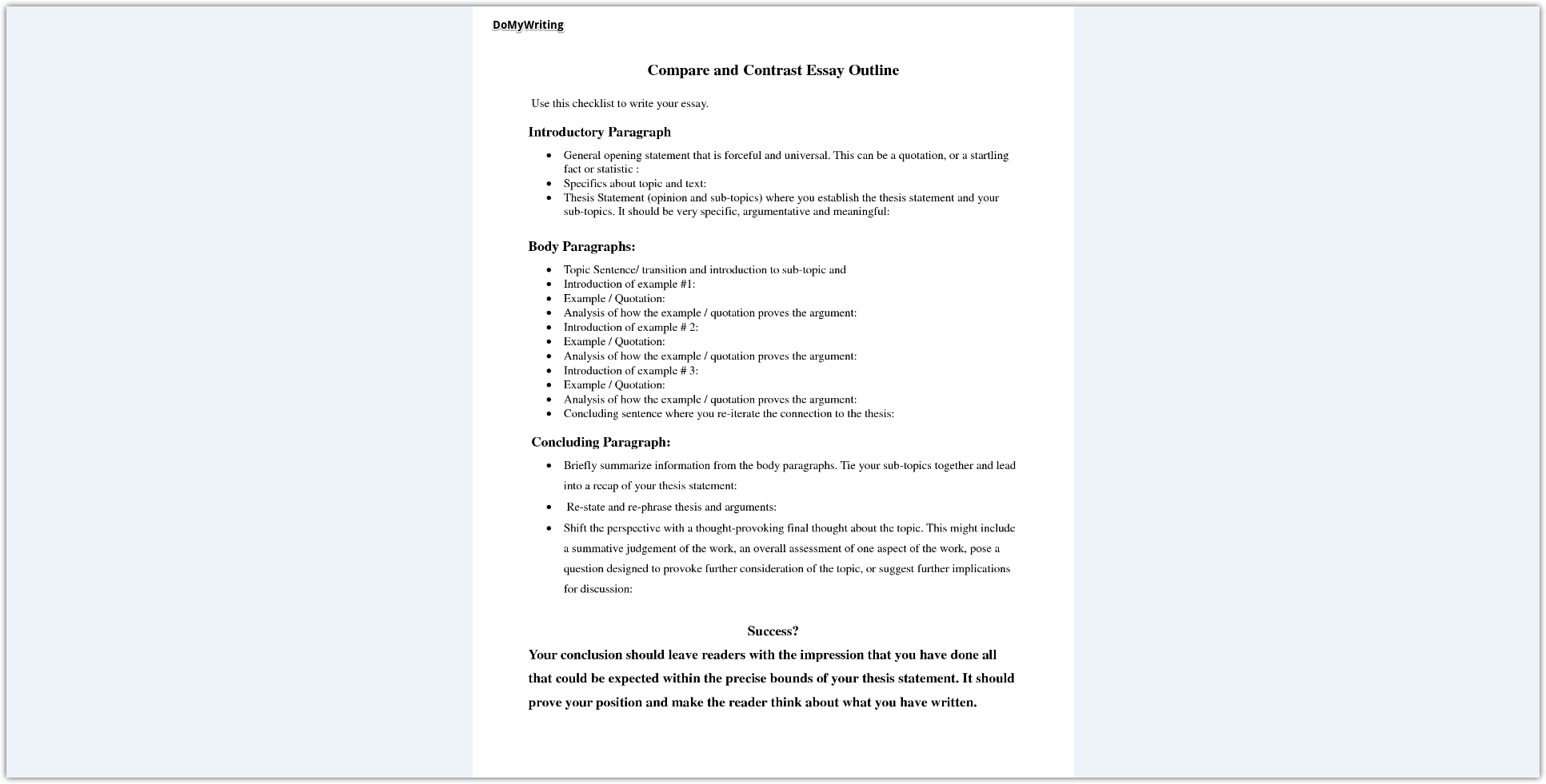 Expert Tips For Writing Character Analysis Designed For Highschool  Character Analysis Outline Place Order  View Sample